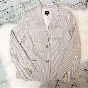Gap Pin Striped Blazer